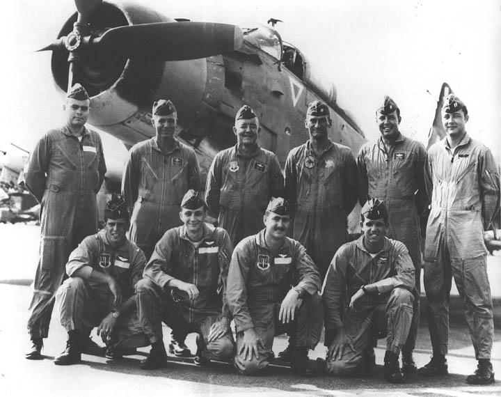 USAF Skyraider Training Class Photos 1964-1973